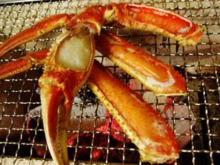 """肉汁溢れる♪""""焼き蟹"""""""