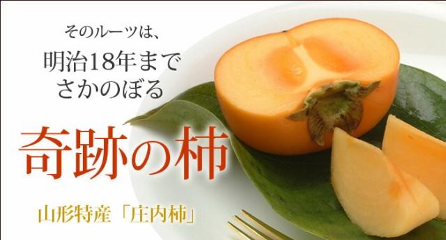 山形県で生まれた種なし柿