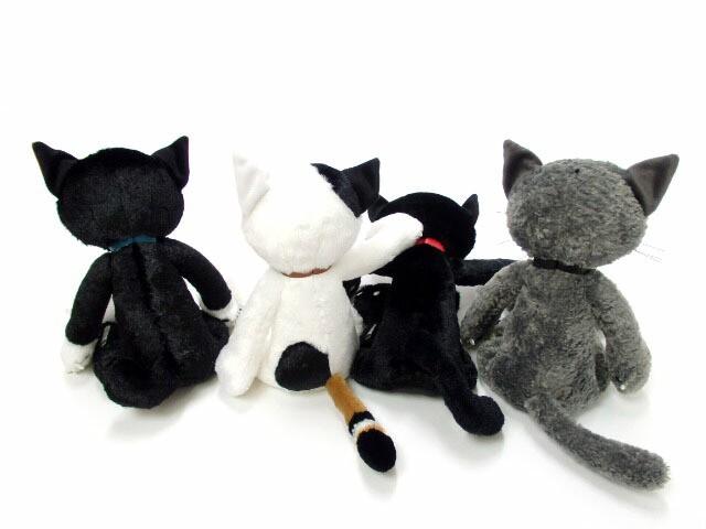 ぬいぐるみ 猫 スクラッチ Lサイズ 米田民穂 ひっかき猫 猫雑貨 縫いぐるみ ヌイグルミ【母の日】