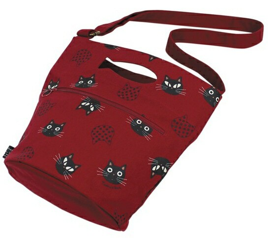 2WAYショルダーバッグ たまちゃん 猫柄 トートバッグ 帆布 キャンバス ネコプリント ネコマニア ネコグッズ 猫雑貨【母の日】