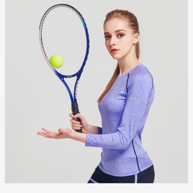 【ゲリラSALE】スポーツウェア トレーニングウェア ロングTシャツ ロングプルオーバー トップス 長袖 ラウンドネック 丸首
