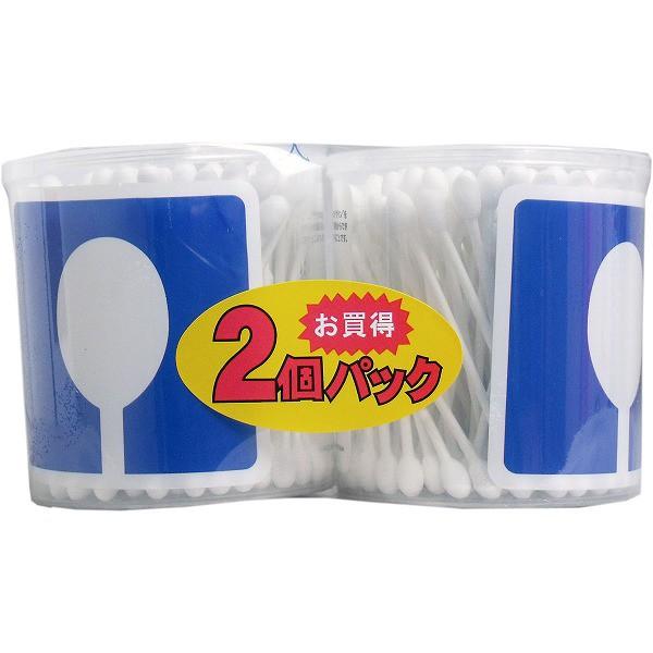 ユニバーサルデザイン シャワー綿棒 お買得 110本×2個パック 綿棒 耳かき