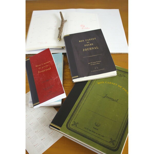 ROUGH NOTE JOURNAL B6 BLACK ノート 日記帳 雑記帳 メモ帳 ノートブック インテリア雑貨(代引不可)