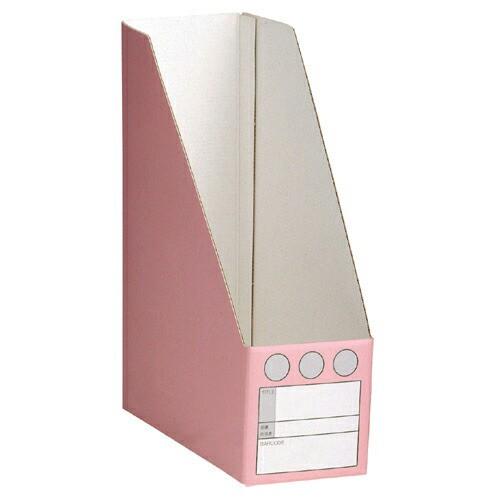 セキセイ ペーパーシスボックス A4タテ ピンク 1 枚 SBF-100S-20 文房具 オフィス 用品