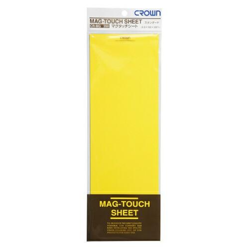 クラウン マグタッチシート 黄 1 枚 CR-MG350-Y 文房具 オフィス 用品