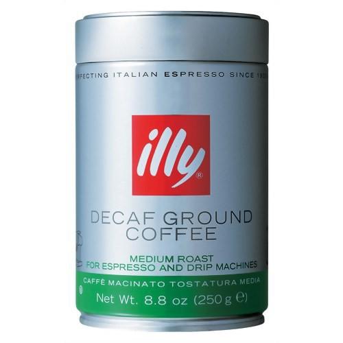 イリー エスプレッソ粉 デカフェ 250g キーコーヒー
