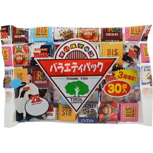 【ケース販売】チロルチョコ バラエティーパック 30個×10袋