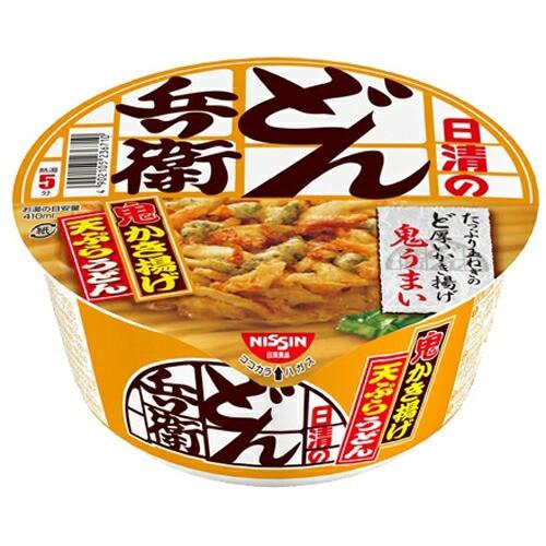 【ケース販売】日清のどん兵衛 かき揚げ天ぷらうどん 97g×12個 日清食品