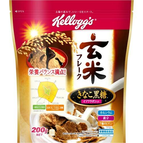 ケロッグ 玄米フレーク きなこ黒糖 袋 200g 味の素