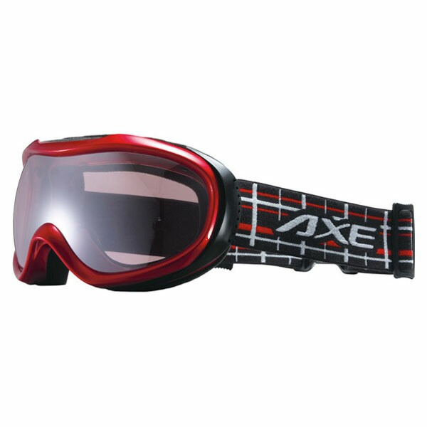 AXE(アックス) スキー ゴーグル OMW780 RE メタリックレッド