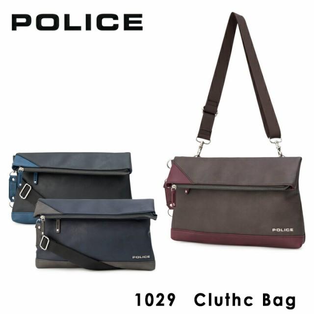 ポリス POLICE セカンドバッグ 1029 URBANO アルバーノ クラッチバッグ セカンドバッグ メンズ 2WAY