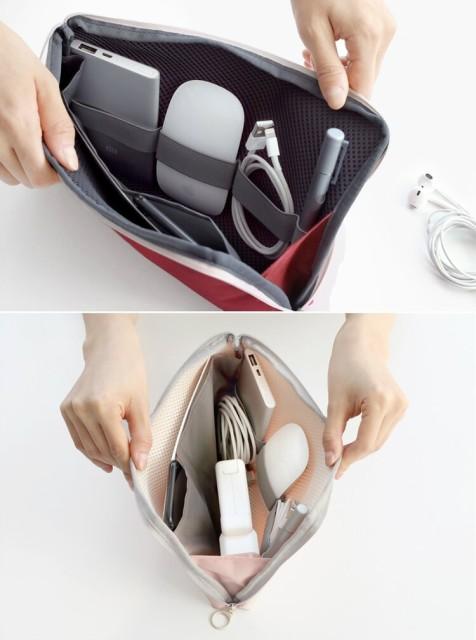 【ICONIC】Cable pouch Lサイズ ★4種類