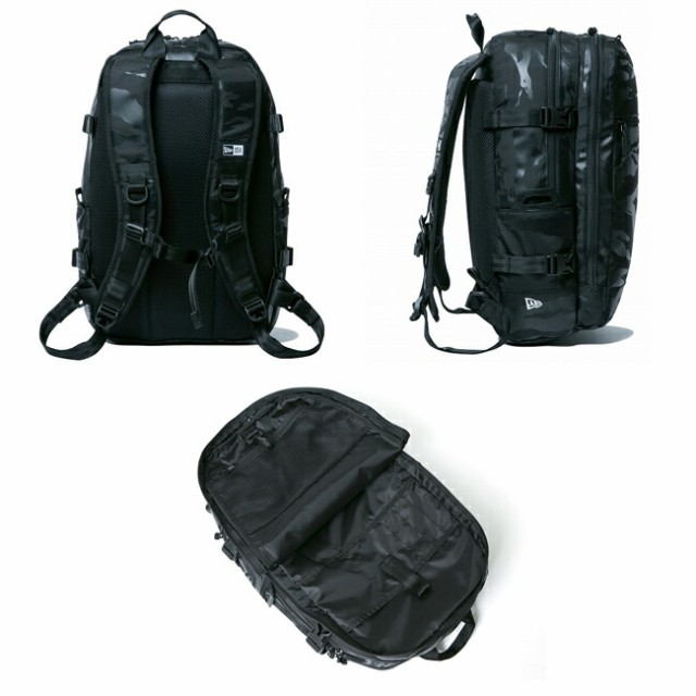 NEWERA ニューエラ Smart Pack スマートパック タイガーストライプカモ ブラック オン ブラック 11556609 カバン バックパック リュック