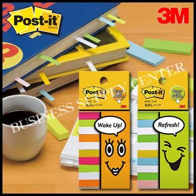 【メール便可能】3M(スリーエム) ポスト・イット フレンドリーシリーズ スリム見出し<50×7.5mm/100枚×10> 710-P(混色)