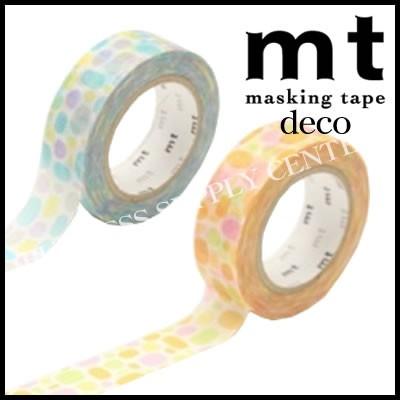 【メール便可能】★2015年7月新作★カモ井 マスキングテープ mt 1P deco(プール)<15mm幅> MT01D283/MT01D284