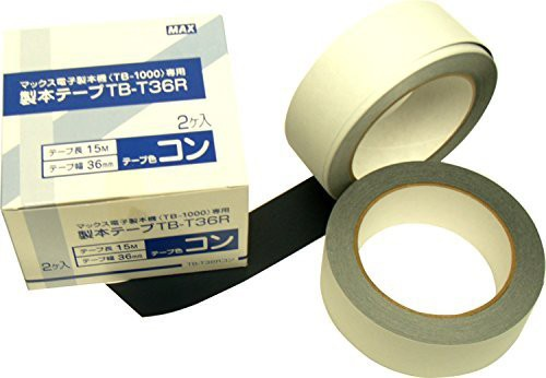 マックス 電子製本機 テープカートリッジ(2個入) TB-T36R コン 00039771 【まとめ買い3セット】