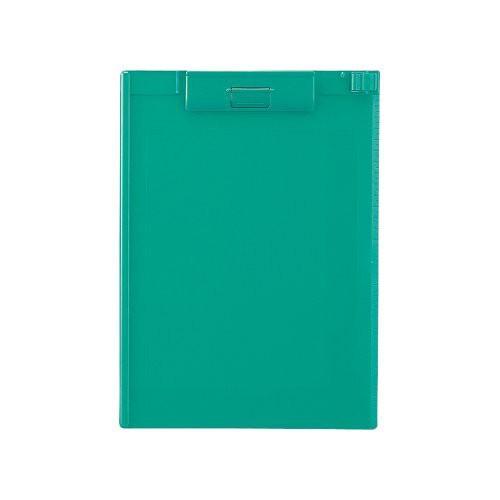 リヒトラブ クリップボードA4E 緑 A-977U-7 00049911【まとめ買い5枚セット】