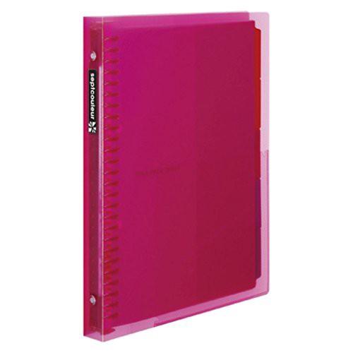 マルマン B5ファイルノートセプトクルール ピンク F615B-08 00027796【まとめ買い3冊セット】
