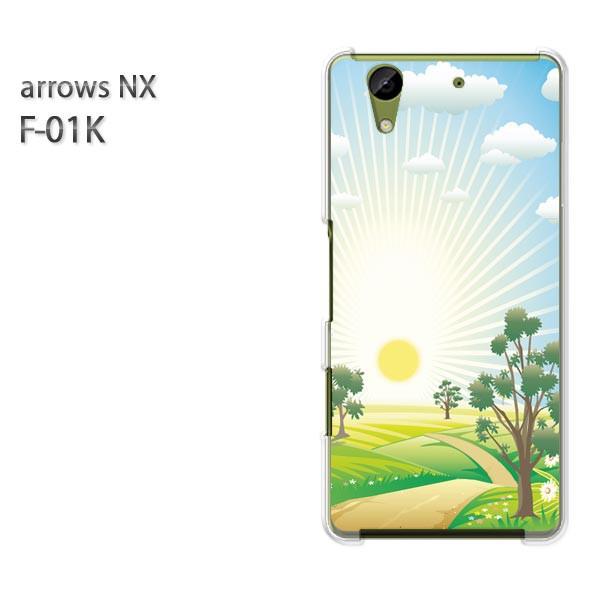 ゆうパケ スマホケース ハード arrows NX F-01Kクリア 【太陽299/f01k-PM299】
