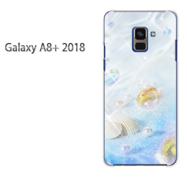 ゆうパケ スマホケース galaxya8plus クリア 【パール/galaxya8plus-M966】