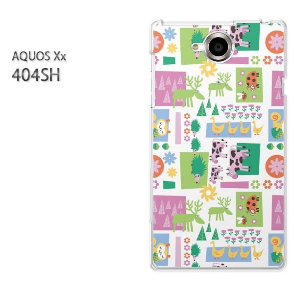 ゆうパケ【SoftBank AQUOS Xx 404SHケース】404sh ケース/404sh カバー]アクセサリー/スマホケース/スマートフォン用カバー]動物