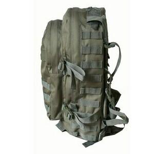 防水布使用米軍 A-3モール対応リュックレプリカ ブラック