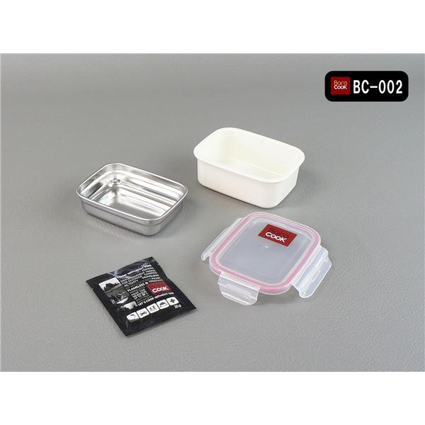 バロクック(BAROCOOK) 加熱式弁当箱【角形/Sサイズ】 320ml 【国内正規代理店品】