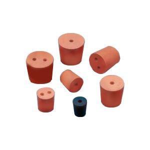 (まとめ)穴あきゴム栓 No.9(2穴)6mmφ【×20セット】 送料込!