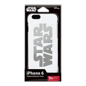 スターウォーズ STARWARS iPhone6用ハードケース 銀箔押 SWロゴ 取り寄せ商品 4562358079252 iP