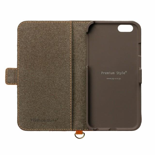 PG-16MFP02RD iPhone 7 フリップカバー PUレザー ワインレッド iPhone7 ケース アイフォ