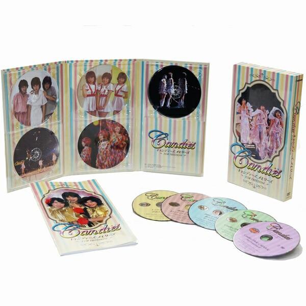 キャンディーズメモリーズ FOR FREEDOM DVD 5枚組(32ページ解説書付)