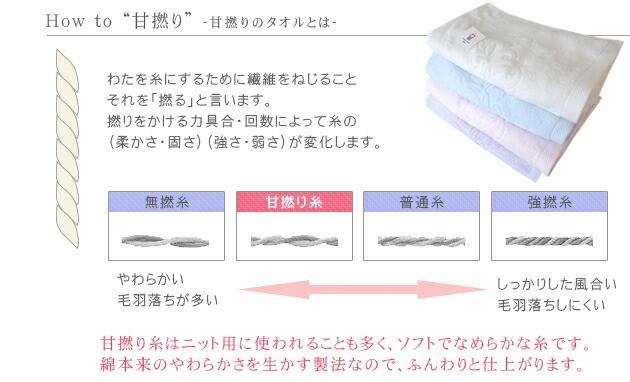 フェルガナコットン【今治産タオル】