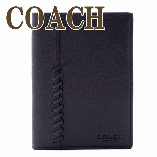 コーチ COACH メンズ パスポートケース パスポートカバー 本革 レザー 22538BLK【tem_b】【tem_new】【tem_hit】