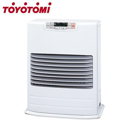 激安の ホワイト 【送料無料】トヨトミ コンクリート19畳まで FF式ストーブ FF-V4502-W 木造12畳まで 石油ストーブ-暖房器具