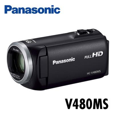殿堂 HC-V480MS-K 32GBメモリー内蔵 ブラック デジタルハイビジョンビデオカメラ 【送料無料】パナソニック-ビデオカメラ