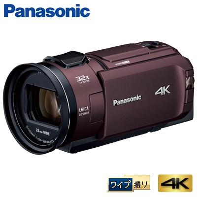 【人気ショップが最安値挑戦!】 【送料無料】パナソニック 4K HC-WX2M-T ビデオカメラ デジタル 64GB カカオブラウン 4K PREMIUM ワイプ撮り-ビデオカメラ