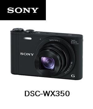 当店だけの限定モデル ソニー デジタルカメラ サイバーショット (B) DSC-WX350 [ブラック] 【Wi-Fi機能】-カメラ