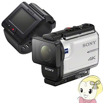 ウイスキー専門店 蔵人クロード ソニー FDR-X3000R デジタル4Kビデオカメラレコーダー アクションカム ライブビューリモコンキット-ビデオカメラ