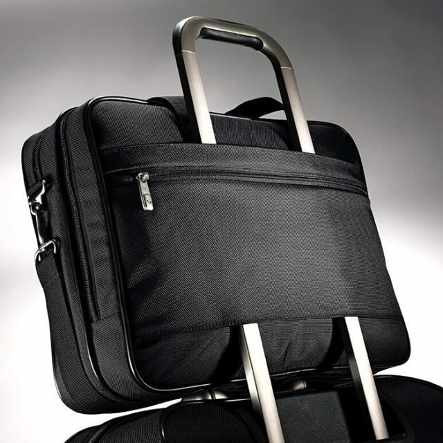 """Samsonite 2 Gusset Briefcase-15.6/""""  Classic PFT"""