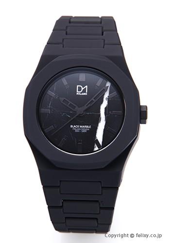 新作人気モデル D1 MILANO D1 ミラノ 腕時計 腕時計 マーブル コレクション ブラック D1 A-MA01, セブンモール:578ea979 --- kzdic.de