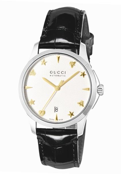 【新品、本物、当店在庫だから安心】 グッチ 時計 GUCCI メンズ 腕時計 G-Timeless Signature Automatic YA126468, 超ポイントアップ祭 6c9b7083