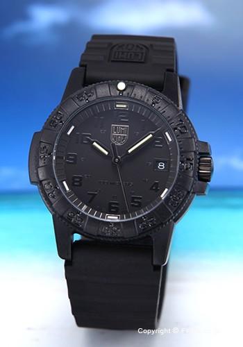 【お得】 ルミノックス LUMINOX 腕時計 ボーイズ LEATHERBACK SEA TURTLE 0300SERIES ブラックアウト 0301.BO, calinuts 7538483f