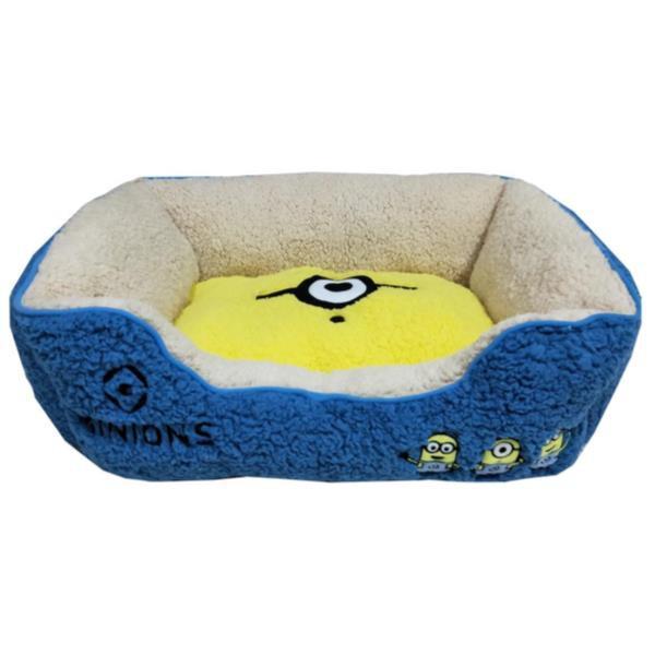 ミニオンズ スクエアベッド mサイズ 犬 猫 ベッド 寒さ対策の通販は