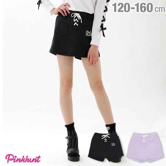 9e676d4d3037a NEW PINKHUNT ピンクハント スカート風 カラー ショートパンツ 1834K ベビードール 子供服 キッズ ジュニア