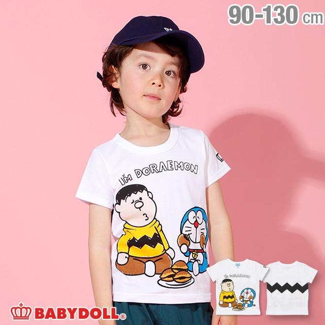 dd3ed81e99682 NEW ドラえもん キャラクター Tシャツ 2286K ベビードール BABYDOLL ベビーサイズ キッズ