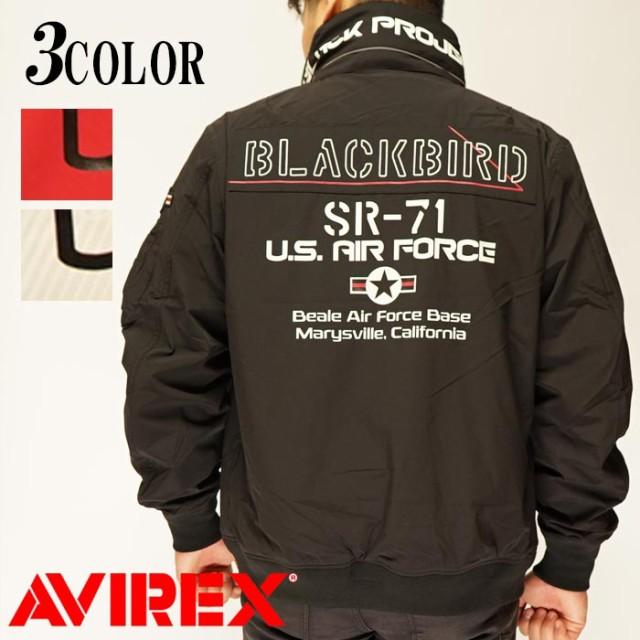 最高品質の AVIREX[アヴィレックス] BLACKBIRD STAND ZIP JKT ブラックバード スタンドジップ ジャケット ミリタリー ミリタリージャケット 6102133, 常設!キッズフェア 30fbf31e