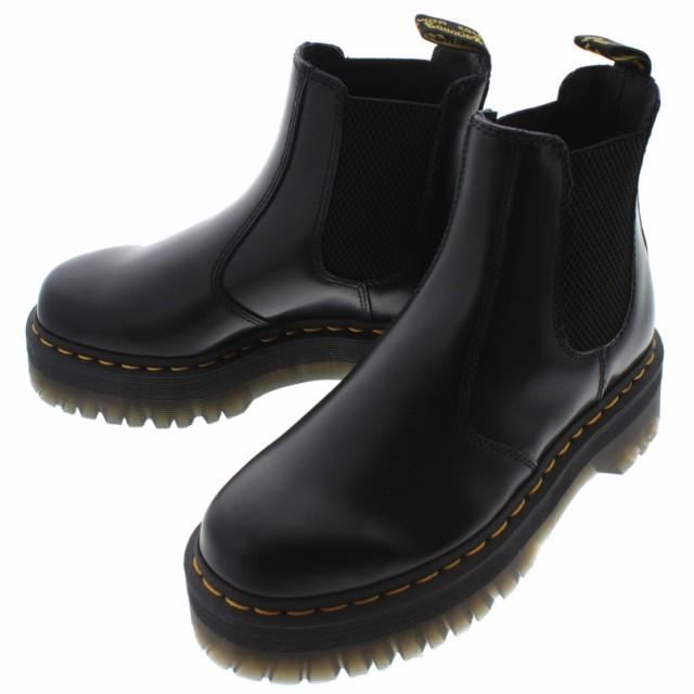 魅了 24687001 クアッド 2976 QUAD ブーツ チェルシー 交換返品送料無料 ドクターマーチン ブラック Dr.Martens-靴・シューズ