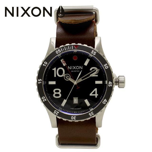 上品 国内正規品 DIPLOMAT レデ 腕時計 送料無料 メンズ ウォッチ BLACK/BROWN NIXON ニクソン NA269019-00 ブラック/ブラウン ディプロマット-腕時計男女兼用(ユニセックス)