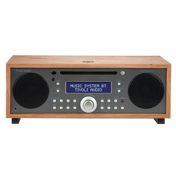新しい到着 Music MSYBT-1530-JP Tivoli Taupe/Cherry Audio System [Bluetooth対応ミニコンポ] BT Tivoli-オーディオ