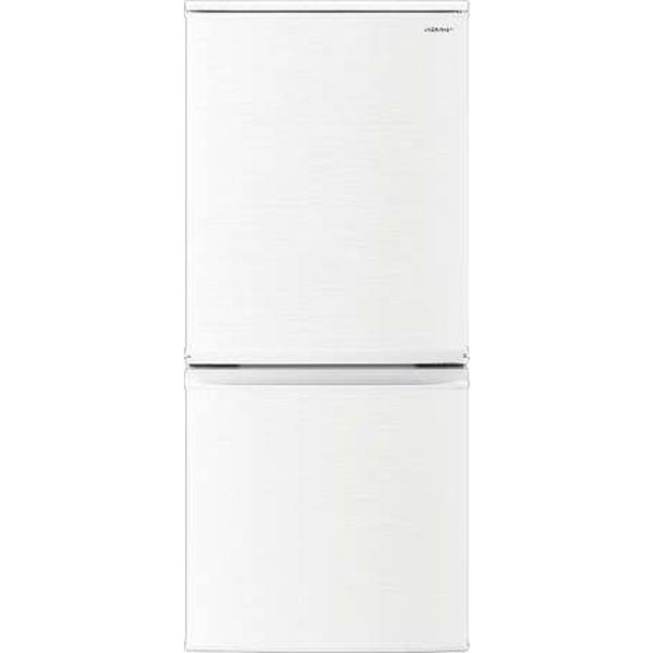 専門ショップ [2ドア冷蔵庫(137L・左右フリー)]【あす着】 SJ-D14F-W ホワイト系 SHARP-キッチン家電